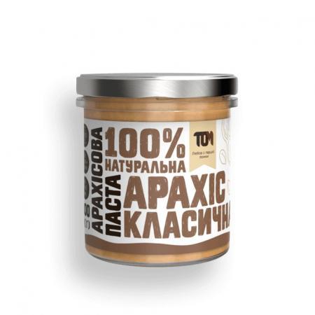 MasloTom арахисовая паста класическая, 300 грамм - стикло