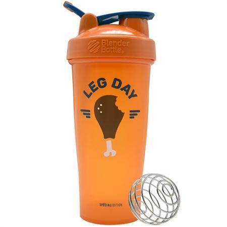 BlenderBottle Classic 820 мл, Leg Day Orange