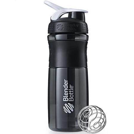 BlenderBottle SportMixer 820 мл, Black White