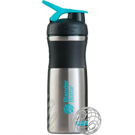 BlenderBottle SportMixer Steel 820 мл, Teal