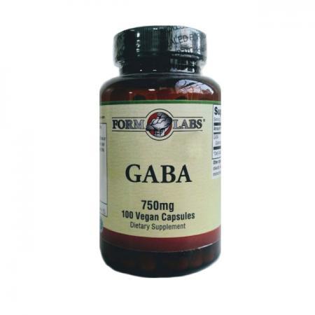 Form Labs Gaba 750 мг, 100 вегакапсул