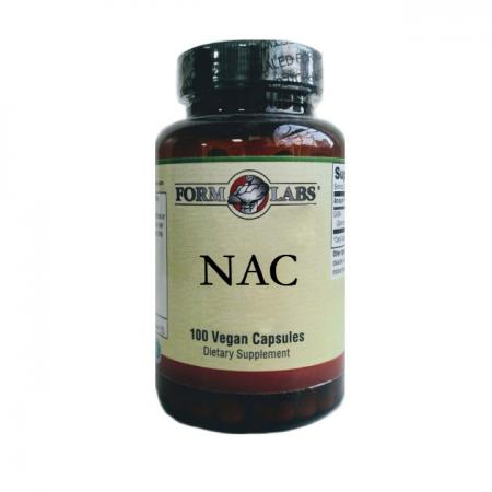 Form Labs NAC 500 mg, 100 вегакапсул