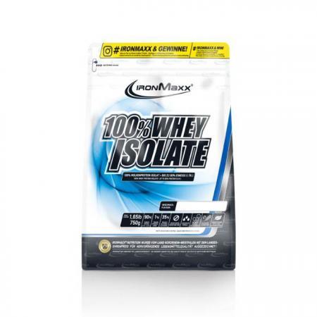 IronMaxx 100% Whey Isolate, 750 грамм