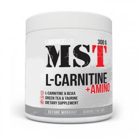 MST L-Carnitine + Amino, 300 грамм