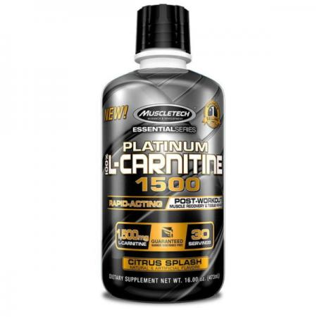 Muscletech Essential Platinum 100% L-Carnitine 1500, 473 мл