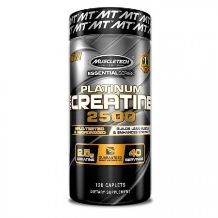 Muscletech Platinum 100% Creatine 2500, 120 каплет