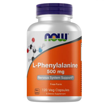 NOW L-Phenylalanine 500 mg, 120 капсул