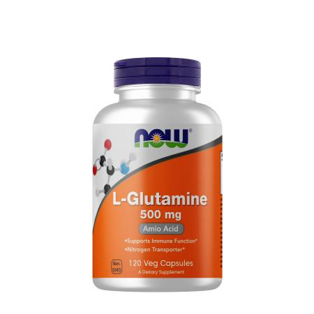 NOW L-Glutamine 500 mg, 120 капсул