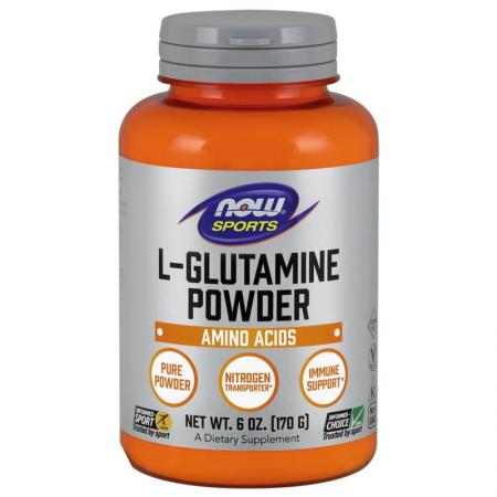 NOW L-Glutamine Powder, 170 грамм