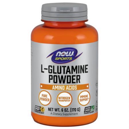NOW L-Glutamine Powder, 170 грамм