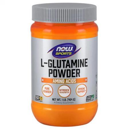 NOW L-Glutamine Powder, 454 грамм
