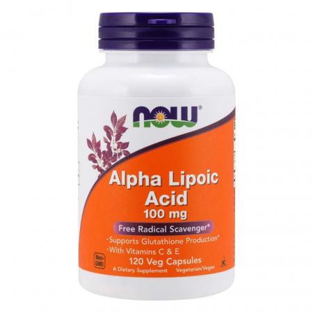 NOW Alpha Lipoic Acid 100 mg, 120 вегакапсул