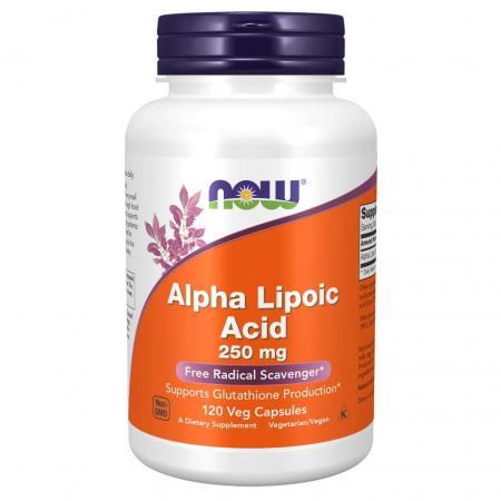 NOW Alpha Lipoic Acid 250 mg, 120 вегакапсул