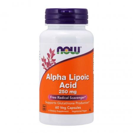 NOW Alpha Lipoic Acid 250 mg, 60 вегакапсул