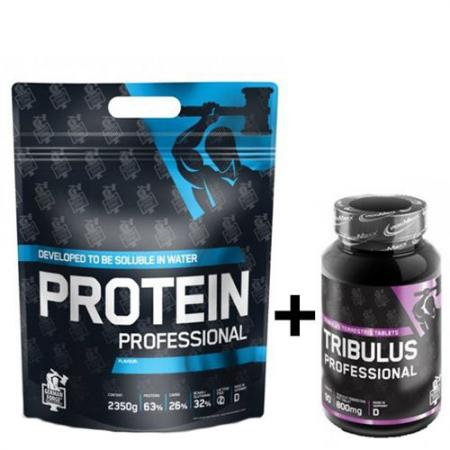 IronMaxx German Forge Protein Professional 2.35 кг + Tribulus Professional 90 таблеток, SALE