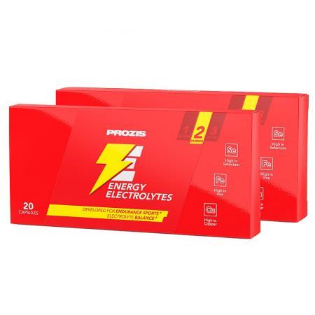 Prozis Energy Electrolytes blister 20 капсул, SALE 1+1