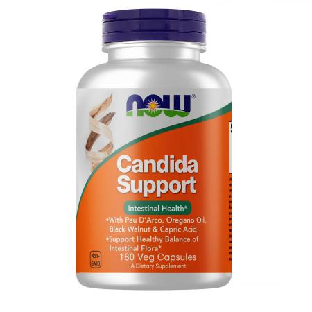 NOW Candida Support, 90 вегакапсул