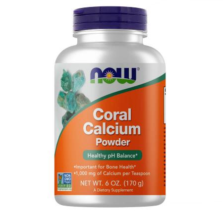NOW Coral Calcium Plus, 170 грамм
