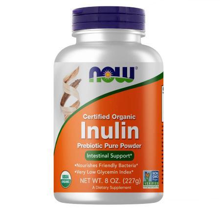 NOW Inulin powder, 227 грамм