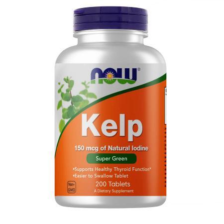 NOW Kelp 150 mcg, 200 таблеток