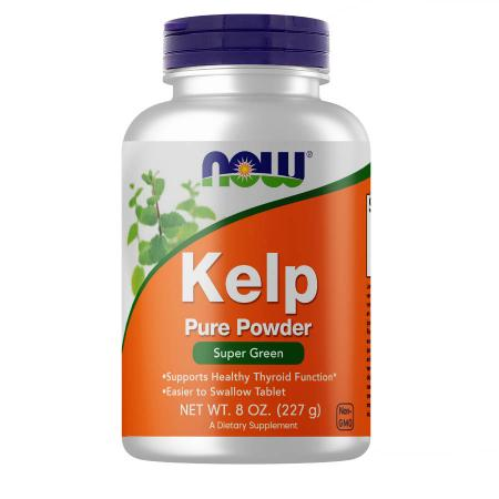 NOW Kelp Powder, 227 грамм