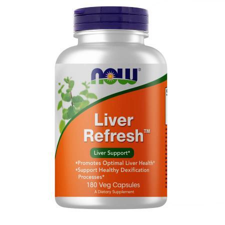 NOW Liver Refresh, 180 вегакапсул