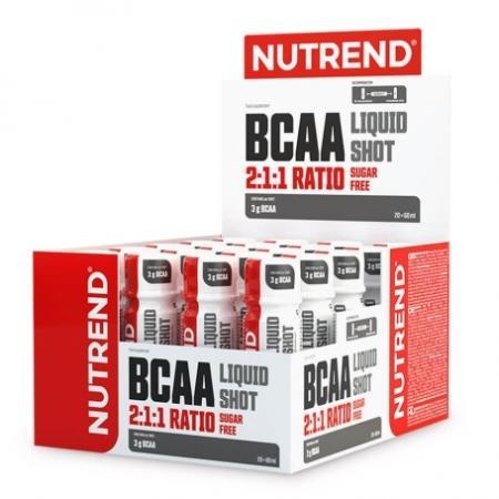 Nutrend BCAA Liquid Shot, 20x60 мл