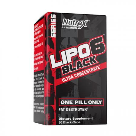Nutrex Research Lipo-6 Black Ultra Concentrate, 30 капсул
