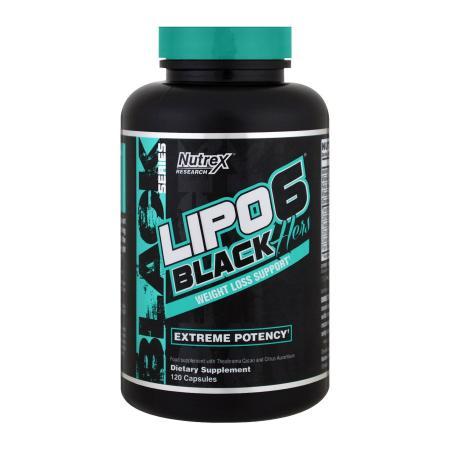 Nutrex Research Lipo-6 Black Hers Powerful, 120 жидких капсул
