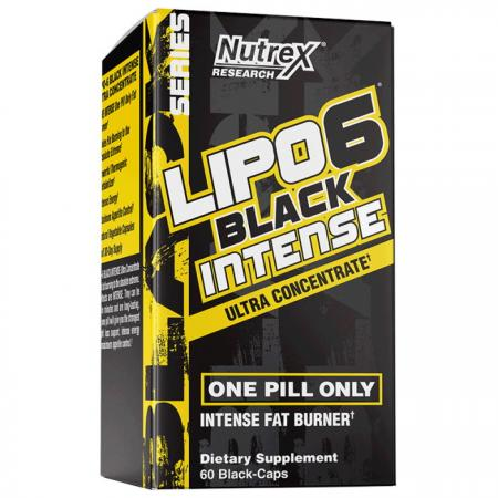 Nutrex Research Lipo-6 Black Intense UC, 60 капсул