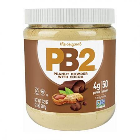 PB2 Powdered Peanut Butter with Chocolate, 907 грамм