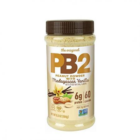 PB2 Powdered Peanut Butter with Vanila, 184 грамм
