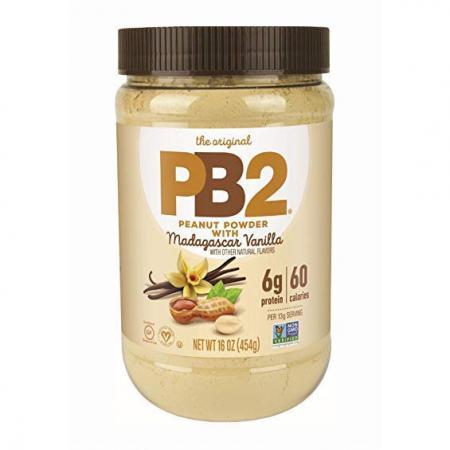 PB2 Powdered Peanut Butter with Vanila, 454 грамм