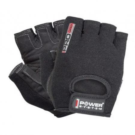 Перчатки для фитнеса Power System, черный - FP-07 B1 Pro