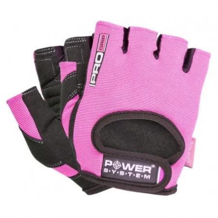 Перчатки для фитнеса Power System, розовые - PS-2250