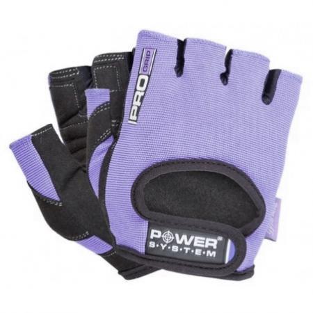 Перчатки для фитнеса Power System, фиолетовые - PS-2250