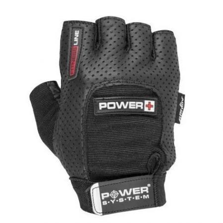 Перчатки для фитнеса Power System, черные - PS-2500