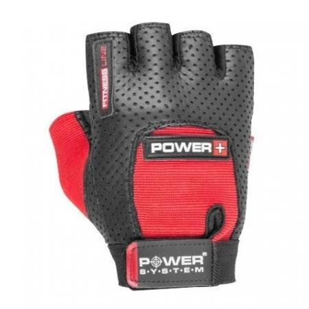 Перчатки для фитнеса Power System, красные - PS-2500