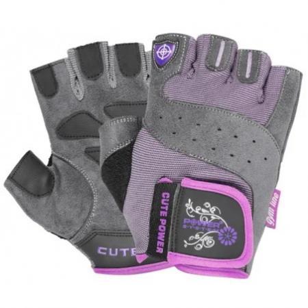 Перчатки для фитнеса Power System, розовые - PS-2560