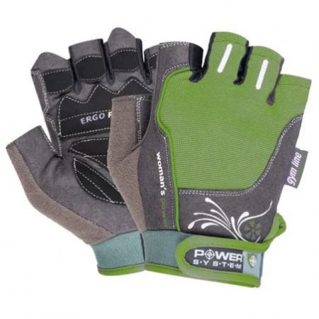 Перчатки для фитнеса Power System, зеленые - PS-2560