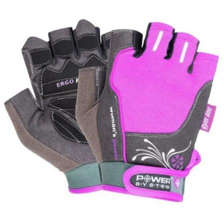 Перчатки для фитнеса Power System, розовые - PS-2570