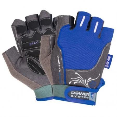 Перчатки для фитнеса Power System, синий - PS-2570