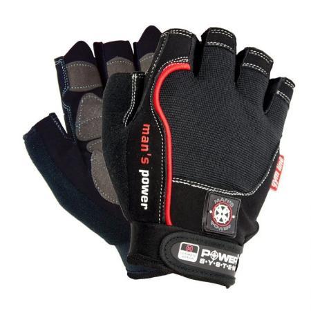 Перчатки для фитнеса Power System, черные - PS-2580
