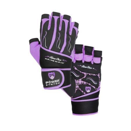 Перчатки для фитнеса Power System, фиолетовые - PS-2710