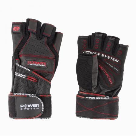 Перчатки для фитнеса Power System, черные - PS-2800