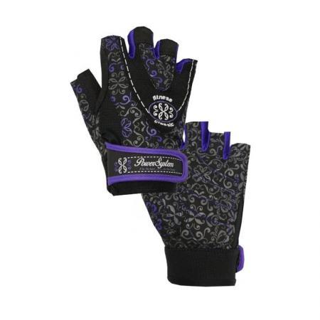 Перчатки для фитнеса Power System, фиолетовый - PS-2910