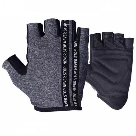 Перчатки для фитнеса Power System, серые - PP-9940