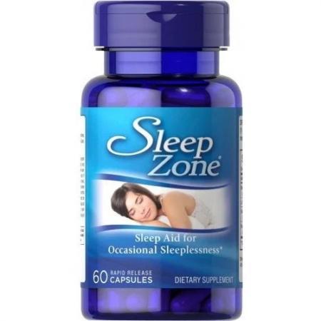 Puritans Pride Sleep Zone, 60 капсул