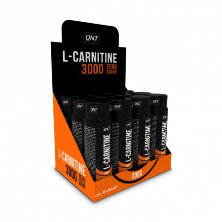 QNT L-Carnitine 3000 mg, 12х80 мл