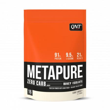 QNT Metapure Zero Carb Isolate, 908 грамм